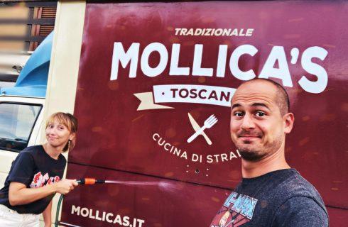 Mollica's Street Food: il furgoncino della tradizione toscana