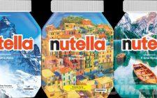 Nutella celebra l'Italia con i nuovi vasetti