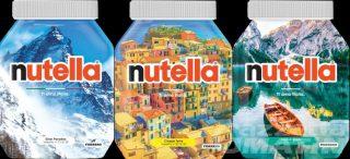 Nutella celebra l'Italia con 30 vasetti in edizione limitata