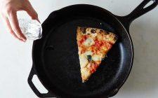 6 trucchi per riscaldare (bene) la pizza