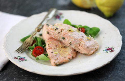 Salmone marinato: semplicissimo ma gustoso