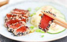 Il sashimi diventa vegano su Tik Tok