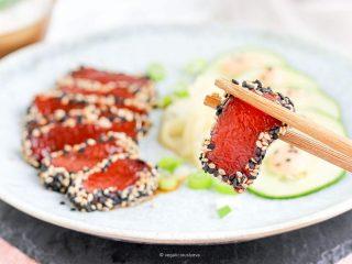 Il sashimi diventa vegano e spopola su Tik Tok