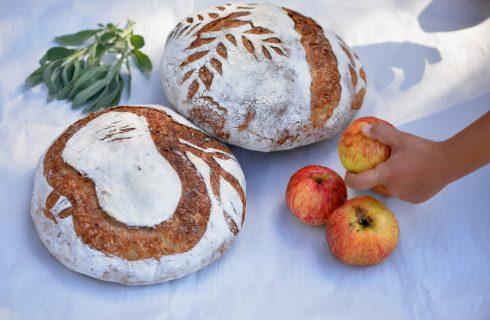 Il pane di mele è buono, fa bene ed è sostenibile