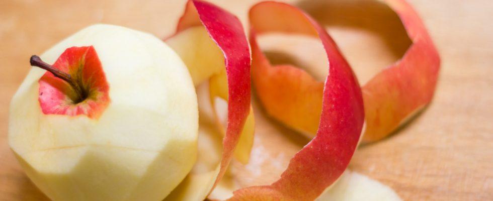 Come utilizzare le bucce di mela