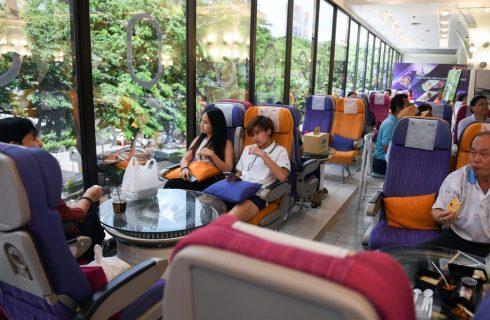 Nostalgia dei pasti in aereo? Ci pensa Thai Airways (a terra)
