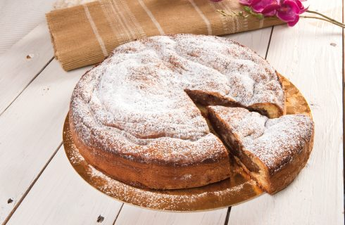 Per la merenda: torta alle due creme