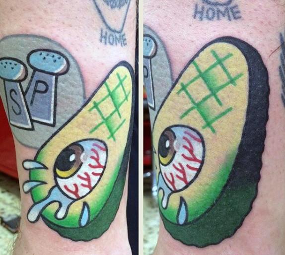 44 tattoo per chi ama davvero il cibo - Foto 6