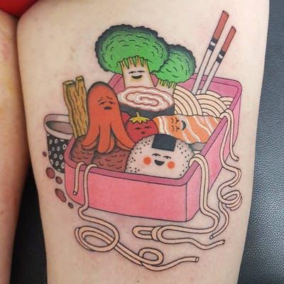 44 tattoo per chi ama davvero il cibo - Foto 7