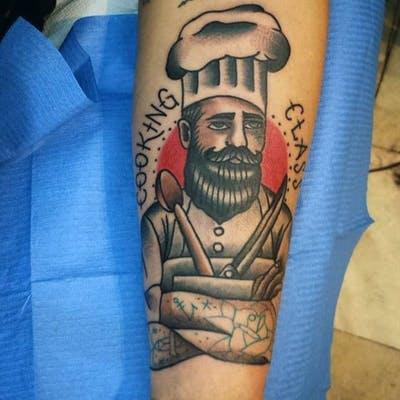44 tattoo per chi ama davvero il cibo - Foto 8