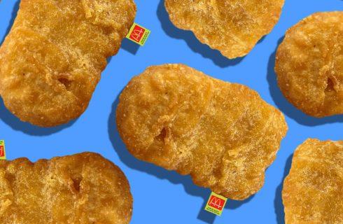 McDonald's lancia i cuscini a forma di nuggets
