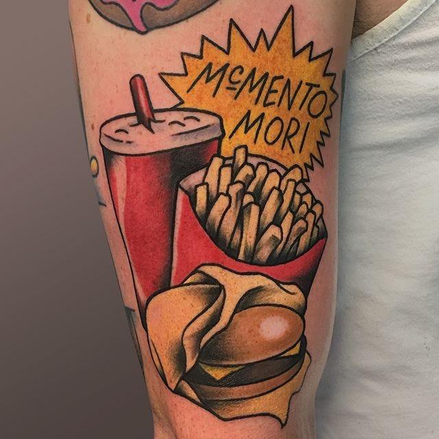 44 tattoo per chi ama davvero il cibo - Foto 13