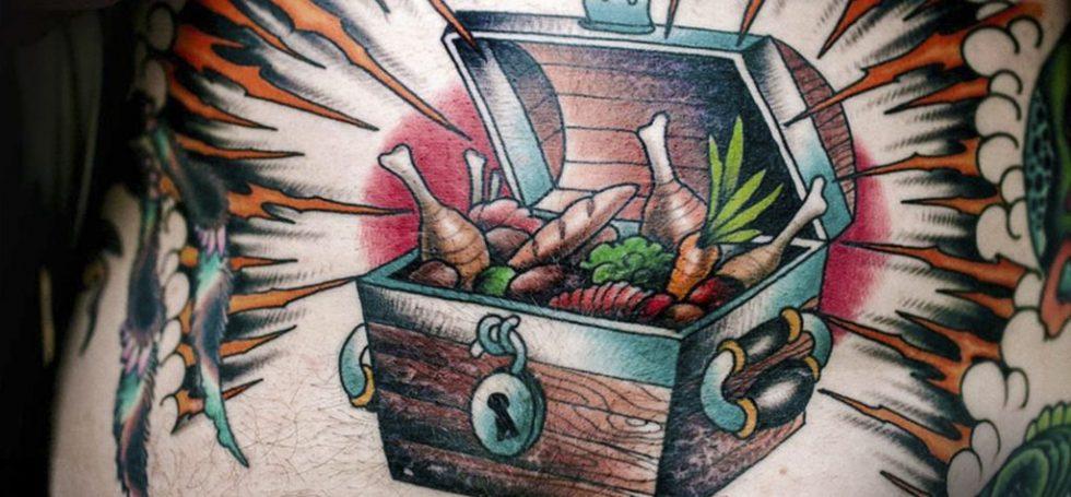 44 tattoo per chi ama davvero il cibo - Foto 14