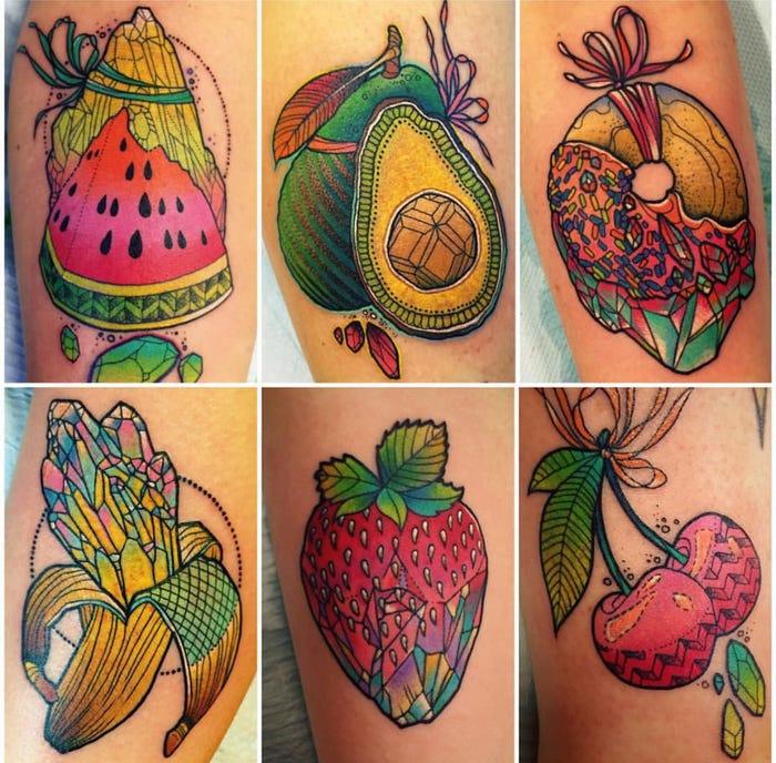 44 tattoo per chi ama davvero il cibo - Foto 19