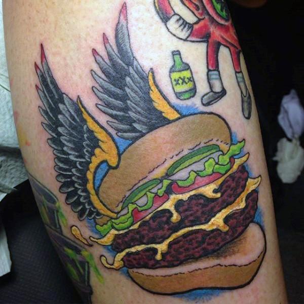 44 tattoo per chi ama davvero il cibo - Foto 11