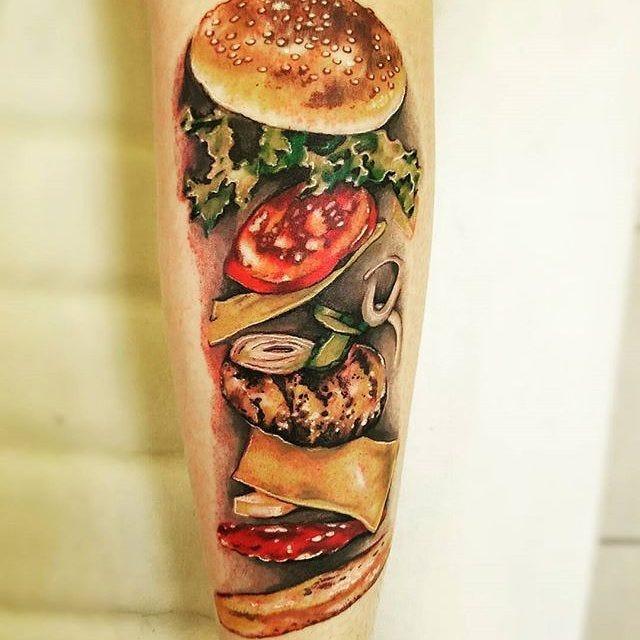 44 tattoo per chi ama davvero il cibo - Foto 18