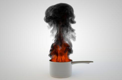7 rimedi per togliere il cibo bruciato da pentole e padelle