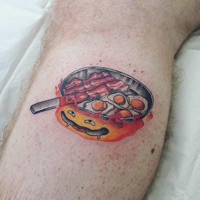 44 tattoo per chi ama davvero il cibo - Foto 26