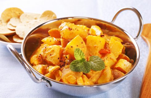 Patate al curry: contorno esotico