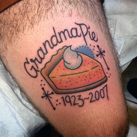 44 tattoo per chi ama davvero il cibo - Foto 33