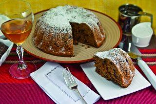 Torta di castagne e cioccolato: senza burro