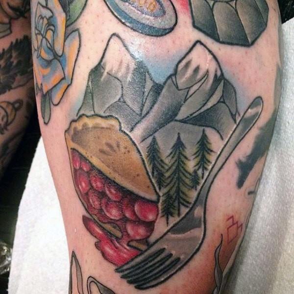 44 tattoo per chi ama davvero il cibo - Foto 29