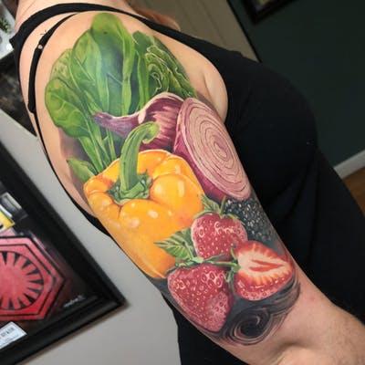 44 tattoo per chi ama davvero il cibo - Foto 44