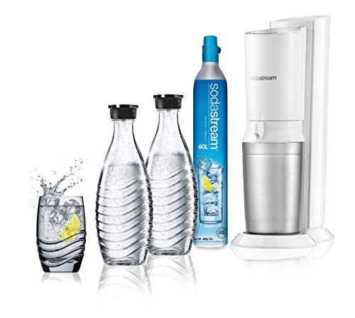 Sodastream Crystal White Megapack gasatore d'acqua