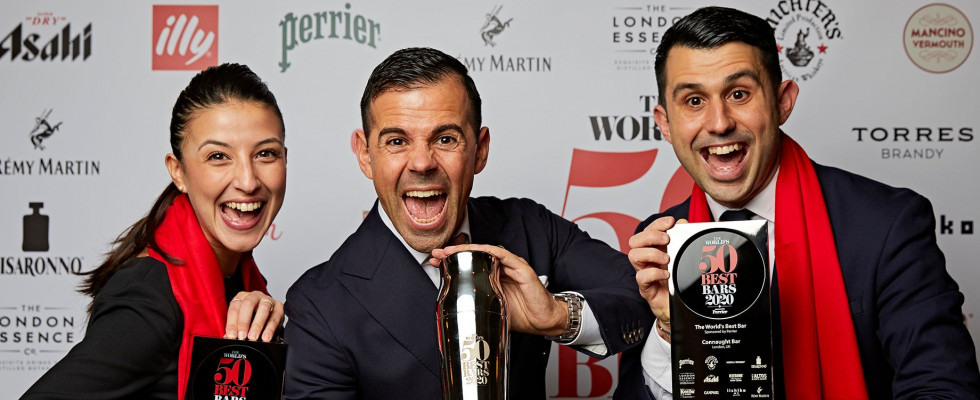 """50 Best Bars: """"l'italiano"""" Connaught Bar è primo al mondo e l'Italia cresce ancora"""