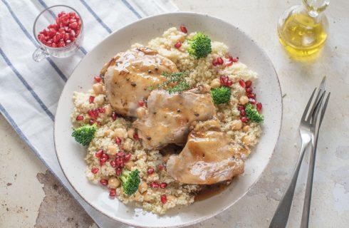 Cous cous invernale con pollo: da leccarsi i baffi