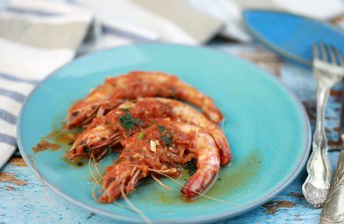 Gamberi in guazzetto: tutto il sapore del mare