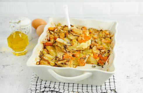 Gratin di patate, zucca e finocchi: per l'autunno
