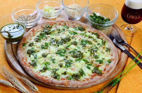 Pizza Genova: pesto, fagiolini e patate