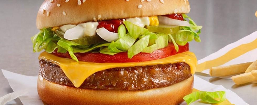 McDonald chiamerà il suo hamburger vegano McPlant