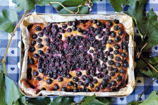 Schiacciata con l'uva: dolce autunnale