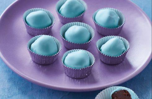 Tartufini blu al bimby