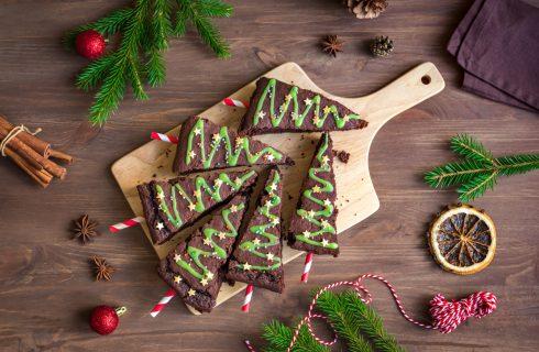 Brownies di natale, voglia di dolce