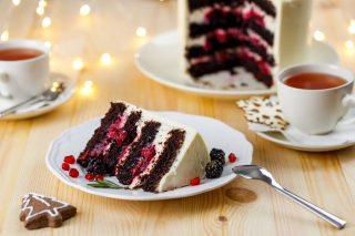 Torta al cioccolato delle feste