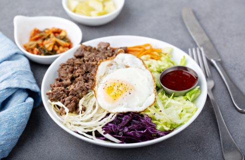 Bibimbap coreano fatto in casa