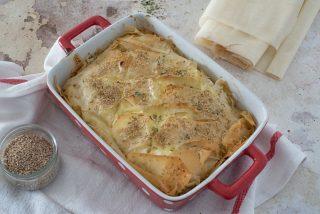 Burek con feta: torta salata