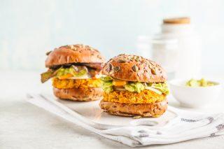Hamburger di zucca: variante di verdura