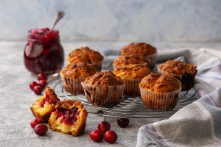 Muffin ai cranberries: per merenda
