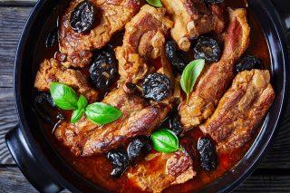 Pancetta di maiale brasata, ispirazione orientale