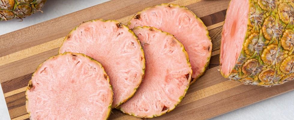 Nasce Pinkglow, l'ananas rosa che punta all'estetica