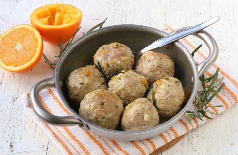 Polpette di maiale all'arancia, secondo aromatico