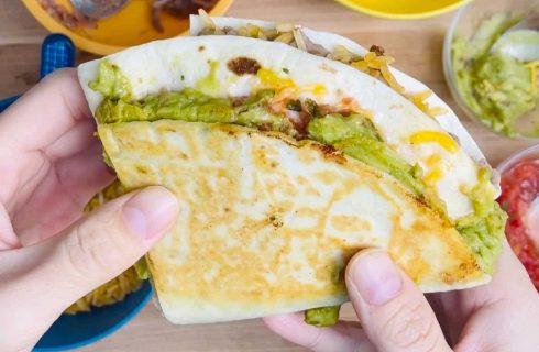 C'è un metodo migliore per piegare la tua piadina o tortilla su Tik Tok