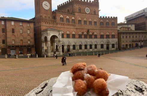 Siena, la tradizione delle frittelle da Carnevale a San Giuseppe
