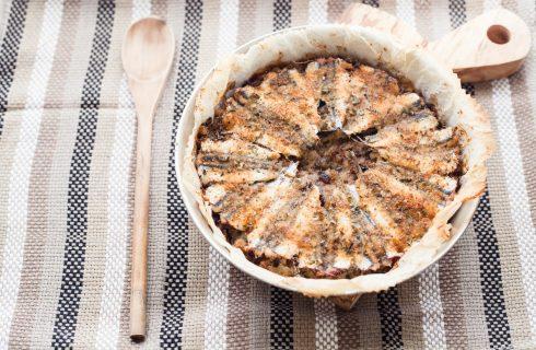 Alici al forno, secondo di pesce