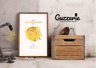 Guzzerie, la cucina diventa arte stampata (e sostenibile)