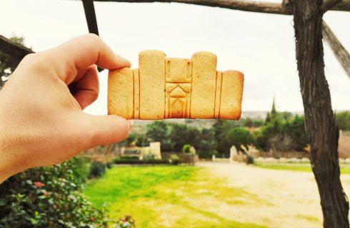 Castel del Monte diventa un biscotto